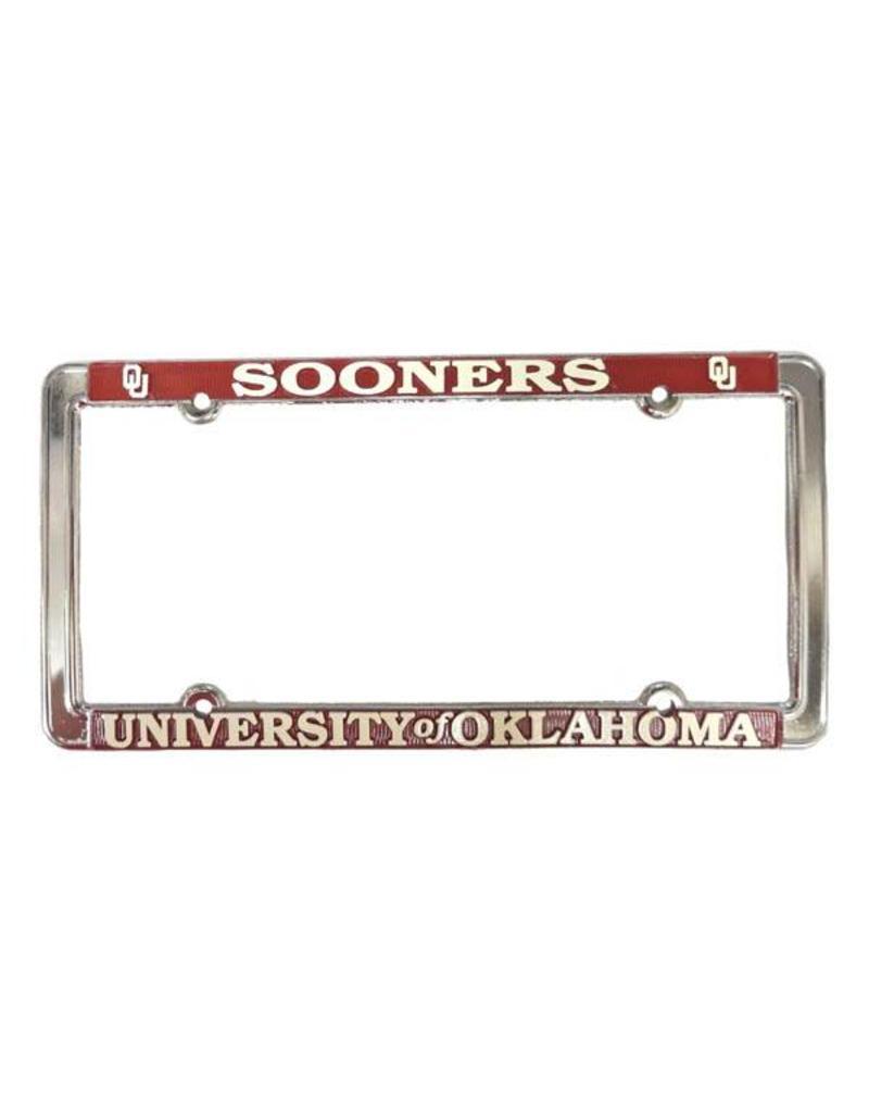 Sooners/The University of Oklahoma Raised Letters White/Crimson ...