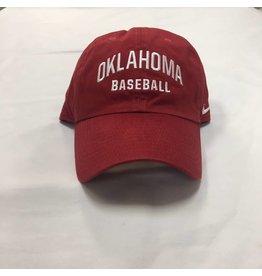 Nike Nike Oklahoma Baseball Campus Cap Crimson 17cafc5f7faa
