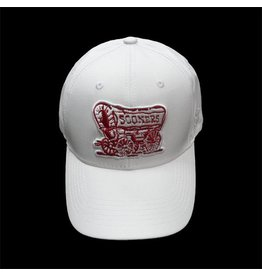 Top of the World TOW White Schooner Performance Adjustable Hat