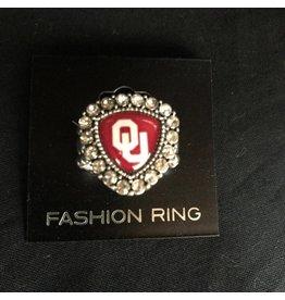 FTH FTH OU Crystal Shield Stretch Ring