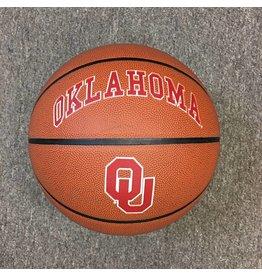 Oklahoma OU Brown Pebble Basketball