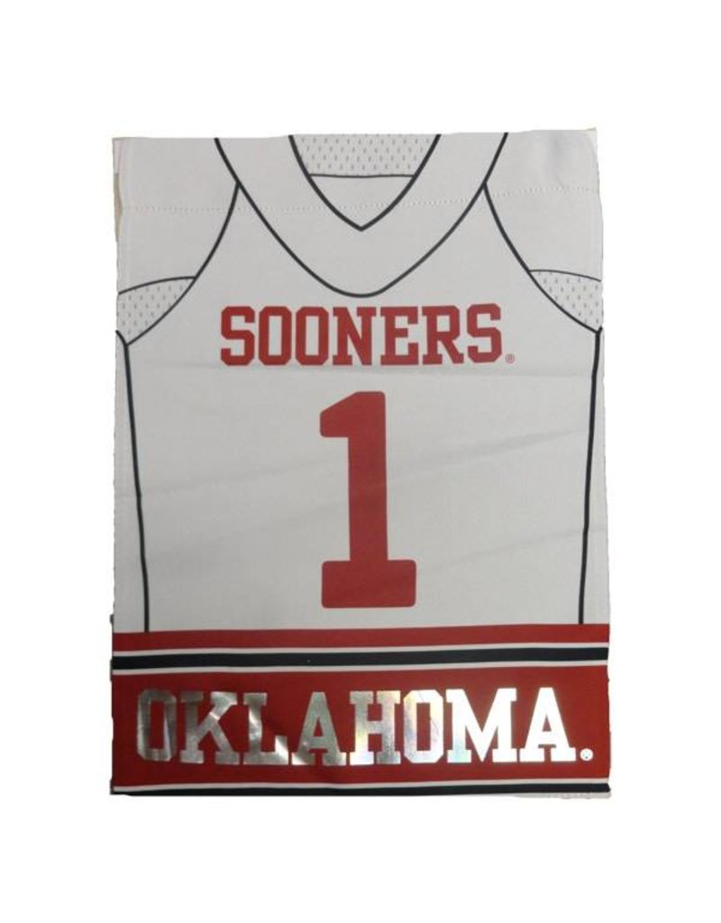 "Team Sports America Home/Away OU Football Jersey Garden Flag 12.5"" x 18"""