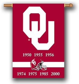 "BSI Two-Sided OU National Championships Premium Banner (28""x40"")"