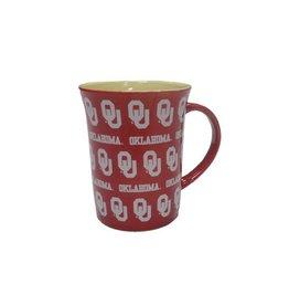 The Memory Company Crimson Step And Repeat OU Coffee Mug
