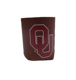 Jenkins Football Grip Collapsable OU Pocket Koozie