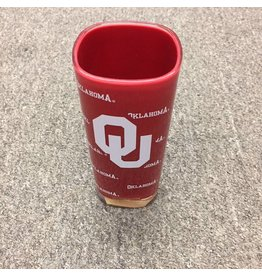 Duck House Oklahoma OU Square Plastic Tumbler