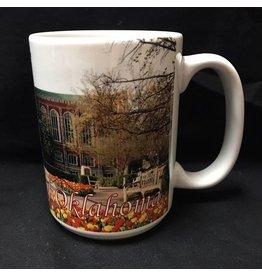 RFSJ The University of Oklahoma Full Color Library Coffee Mug