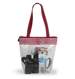 Desden Desden Clear Zipper Stadium Tote