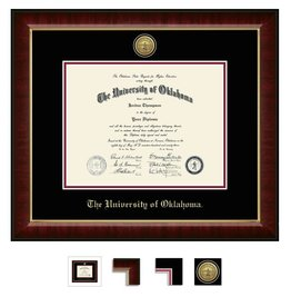 Church Hill Church Hill Engraved Murano Diploma Frame Bachelor's/Master's