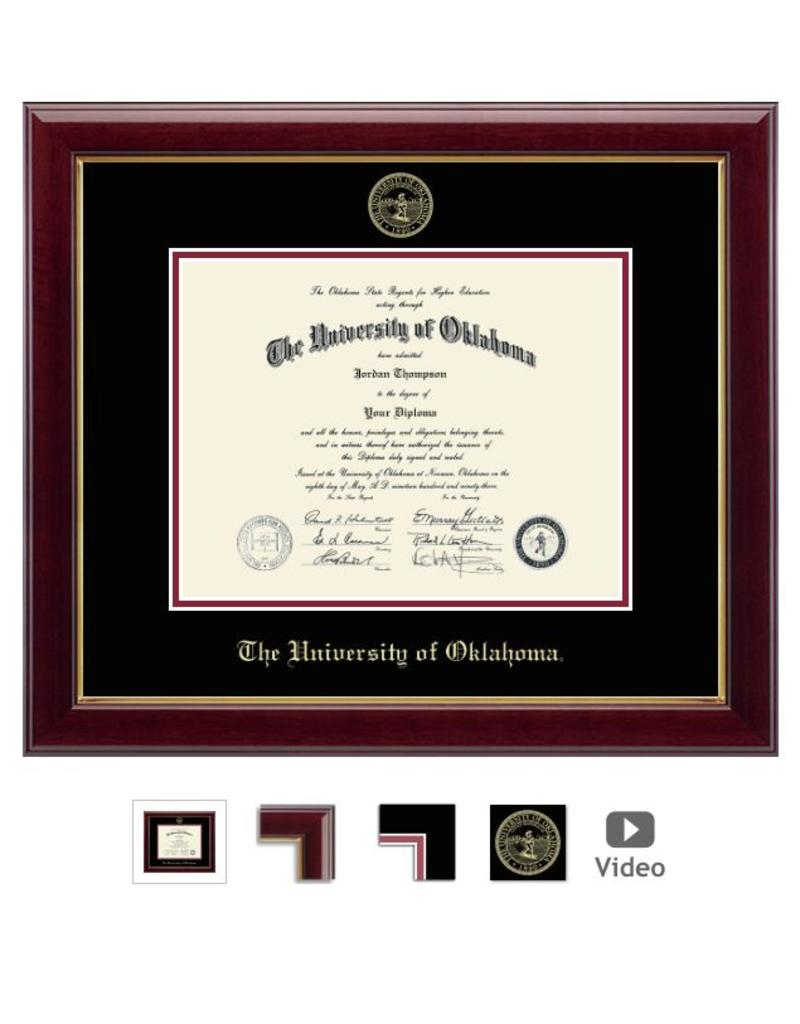 Church Hill Church Hill Embossed Gallery Diploma Frame Bachelor's/Master's