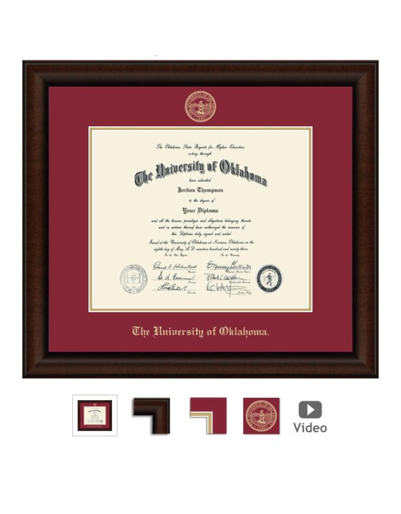 Church Hill Church Hill Embossed Lenox Diploma Frame Bachelor's/Master's