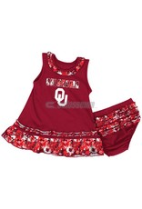 Colosseum Infant Colosseum Floral Ruffle Dress with Bloomer