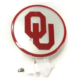 "Team Sports America OU Night Light 4.25"" Diameter"