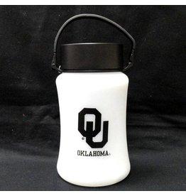 Team Sports America OU Oklahoma LED Silicone Lantern-Rechargeable & Solar Panel