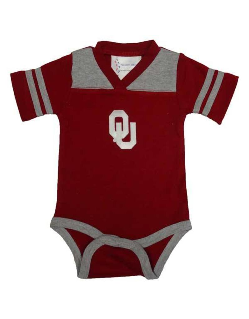 Two Feet Ahead Infant Two Feet Ahead Jersey Style Onesie with Snap Closure