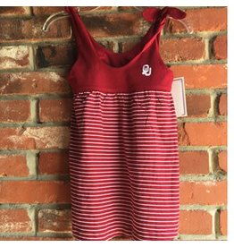 Two Feet Ahead Toddler Two Feet Ahead Crimson & White Stripe Dress