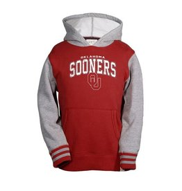 Garb Youth Garb Oklahoma Sooners Crimson and Gray Hoody