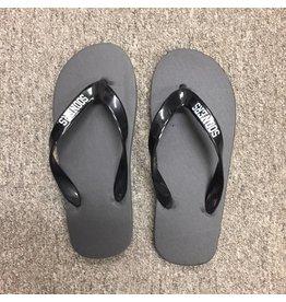 Jardine Capistrano Black Flip Flops XS-XL