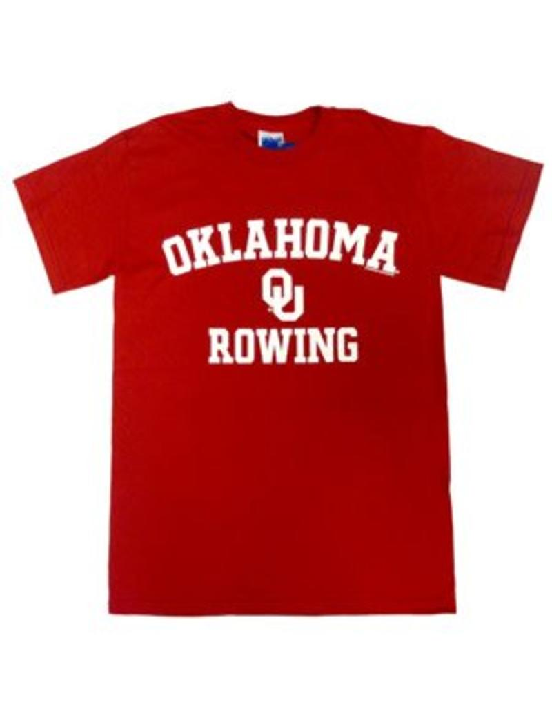 Gildan Basic Cotton Tee Oklahoma Rowing Crimson
