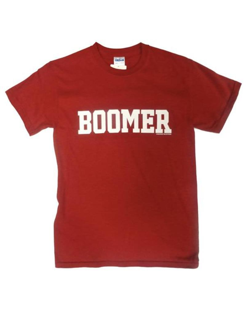 "Gildan Basic Cotton""Boomer"" Front ""Sooner"" Back Tee"