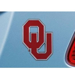 Fanmats OU Auto Emblem Color Metal