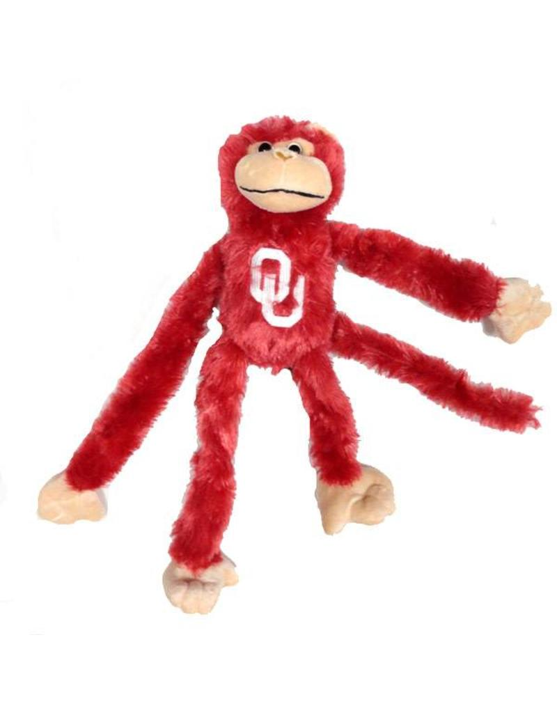 Game Day Outfitters Crimson OU Fuzzy Monkey