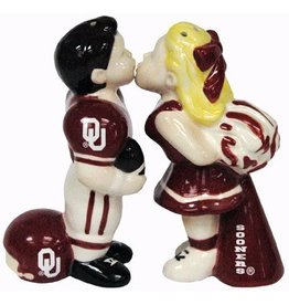 Jenkins Footballer/Cheerleader Salt & Pepper Set