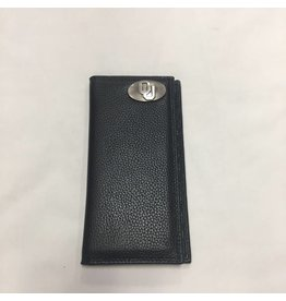 Zep-Pro Zep-Pro Black Pebble Grain Roper Wallet
