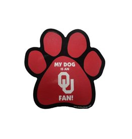 All Star Dogs My Dog Is An OU Fan Magnet