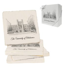 Jardine OU Library Stone Coaster Boxed Set (4 coasters)