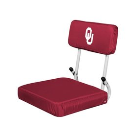 Logo Logo Brands Hard Back Stadium Seat