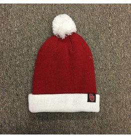 3d600c9a13c Nike Nike Crimson  White Beanie with Removable Pom