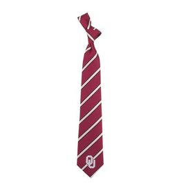 Eagles Wings Eagles Wings Striped Woven Polyester Necktie