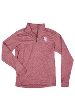 Columbia Men's Columbia Heather Crimson 1/4 Zip Pullover