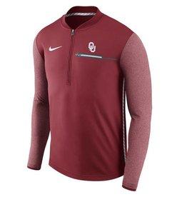 Nike Men's Nike 2017 OU Coaches Sideline 1/4 Zip Jacket