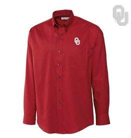 Cutter & Buck Cutter & Buck Crimson Nailshead Dress Shirt
