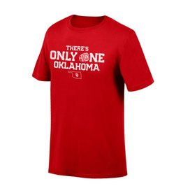 Top of the World There's Only One Oklahoma Tee 2018