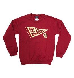 MV Sport Retro Sweatshirt With Felt Applique Banner Logo
