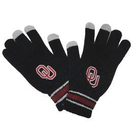 '47 Brand '47 Brand OU Black Knit Gloves