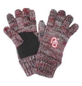 Forever Collectibles Forever Collectibles Grey and Crimson Gloves
