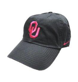 Nike Nike Women's Pink OU Anthracite Adjustable Campus Hat