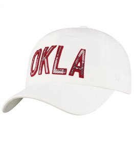 Top of the World TOW Women's Sequin OKLA District Letters Adjustable Hat