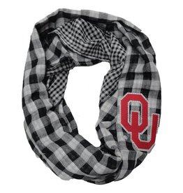 Gameday Couture Gameday Couture Infinity Fashion Scarf with OU Crystal Outline