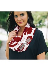 Gameday Couture Gameday Couture Sooners Honeycomb Infinity Scarf
