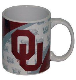 Jenkins OU Ceramic Mug Schooner Background
