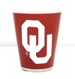 Jenkins OU Two-Tone Shot Glass