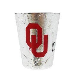 Jenkins OU Diamond Plate Shot Glass