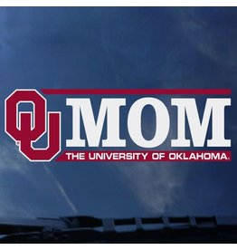 "Color Shock OU Mom Horizontal Auto Decal 2.1""x6.3"""