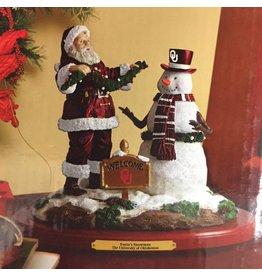 The Memory Company OU Santa's Snowman Colletible