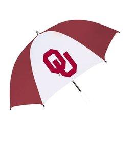 "Seven Sons OU Seven Sons 60"" Crimson & White Umbrella"